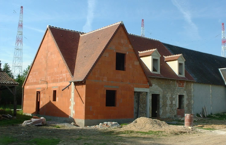 Ma onnerie construction en pierres 36 indre for Construction maison brique